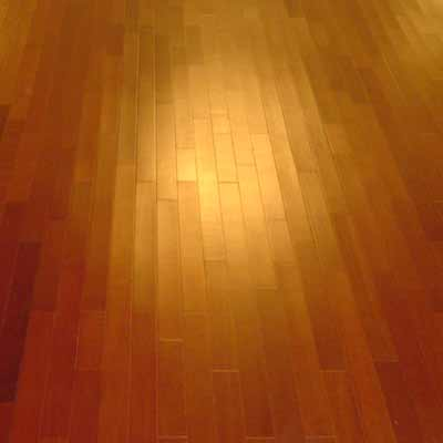 New hardwood dance floor, angle 5